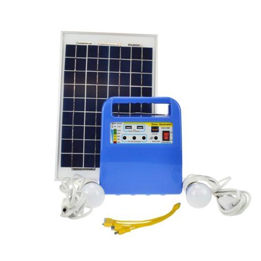 10w solar lighting kit