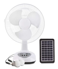 3w solar fan kit 12 inch