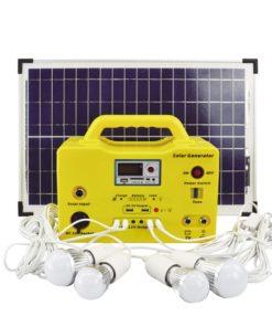 20W Solar Home Light 12V LED Lighting System