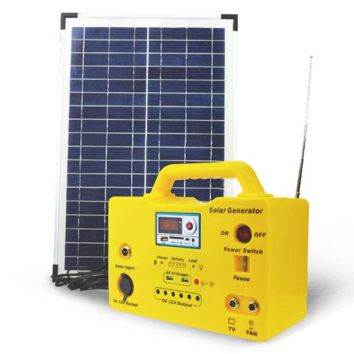 30w solar lighting kit