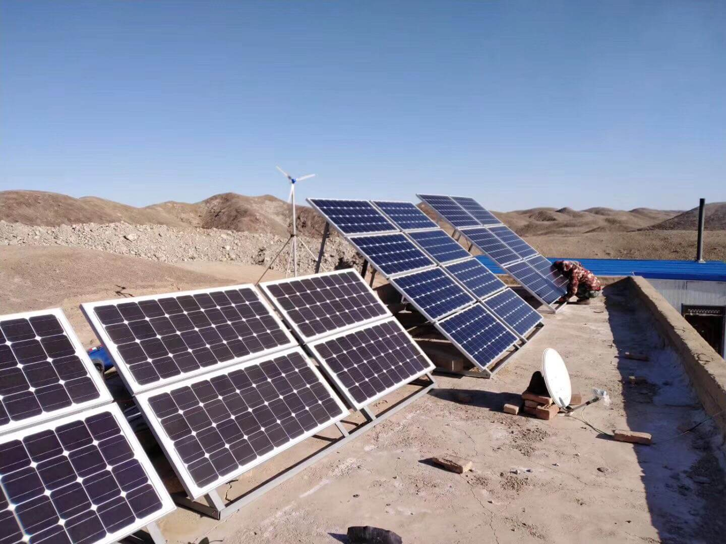 3KW Off Grid Solar Power System Solutions for Home