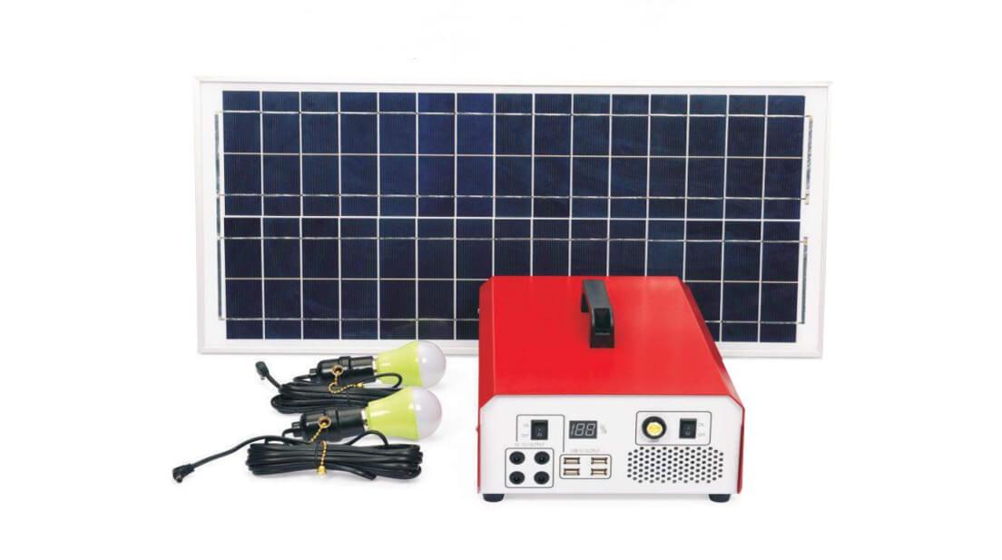 500w 1000w solar generator kit with DC AC output