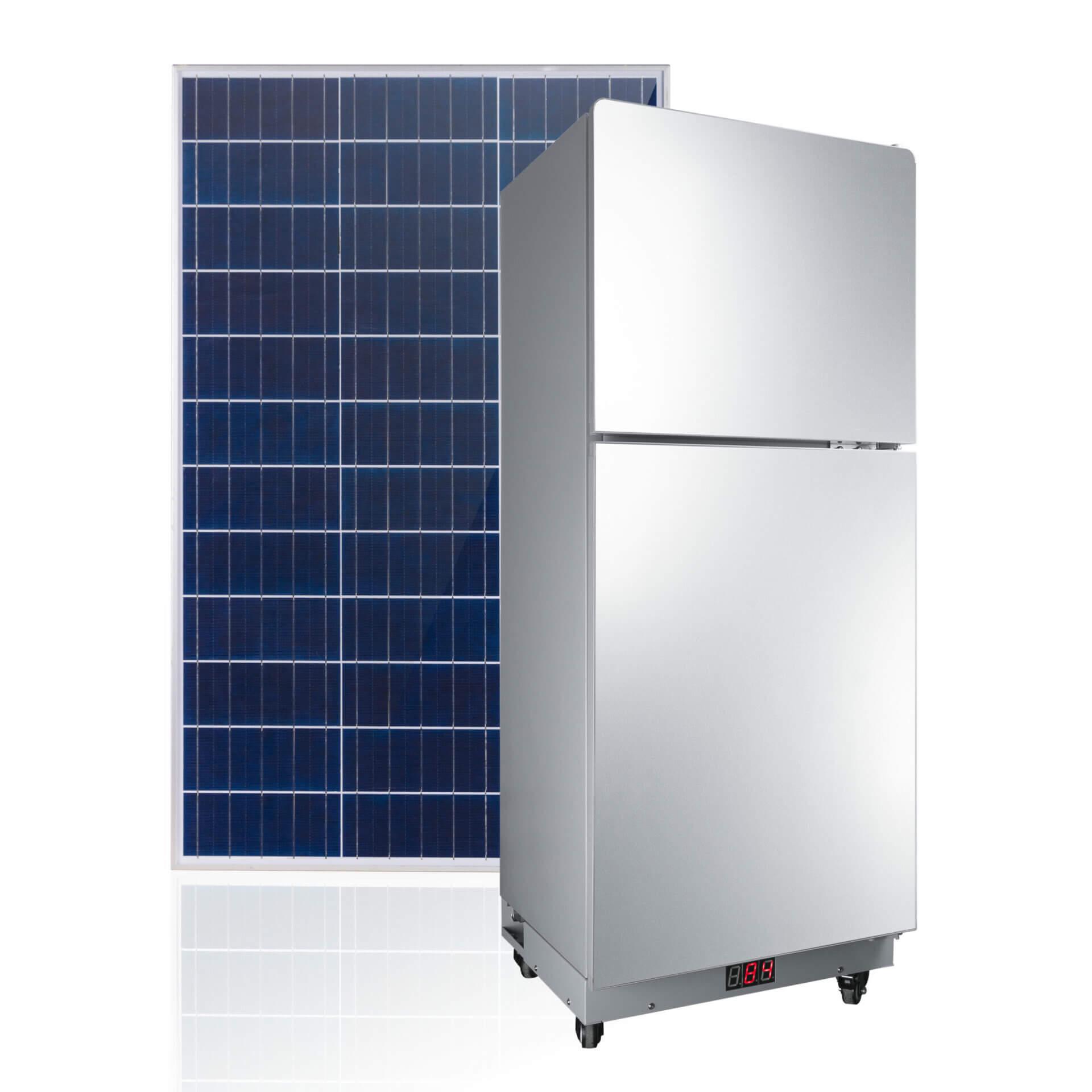 Solar Refridgerator All-in-One Solar Fridge Kit for Home
