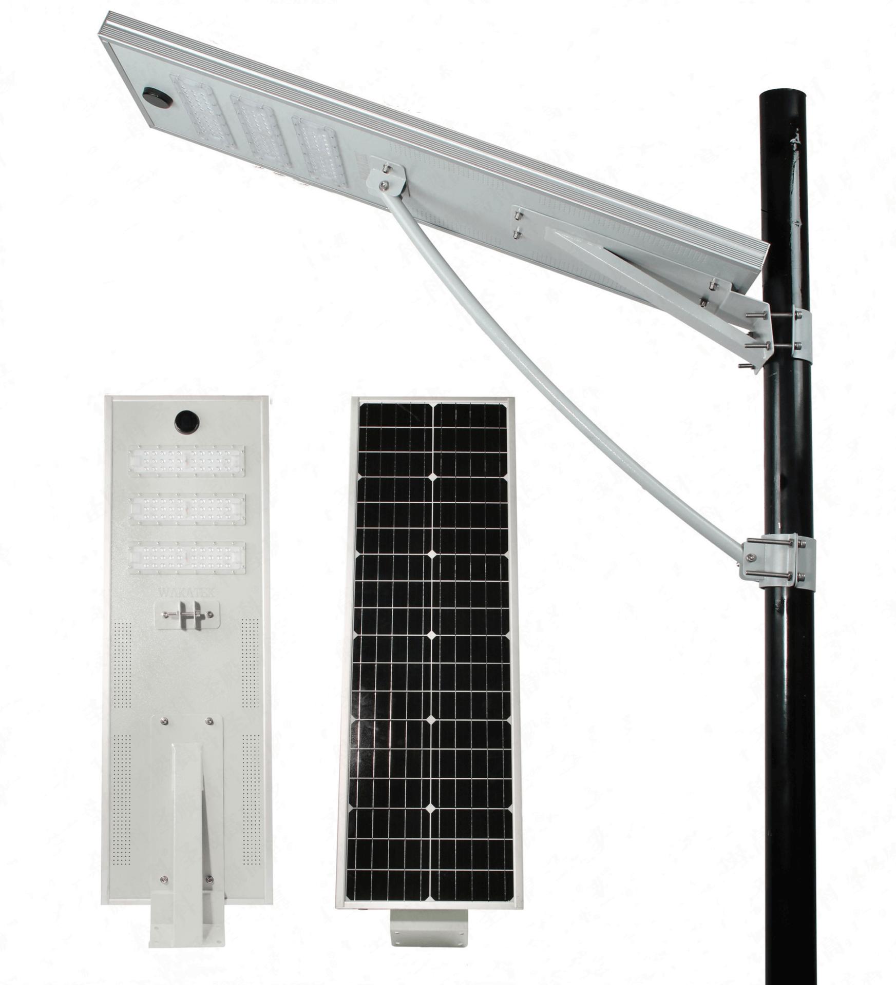 30w 60w 80w 100w all-in-one solar street light