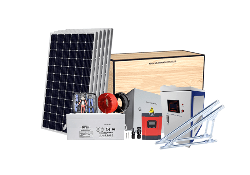All-in-One Solar System 5KW 10KW Off Grid Solar Kit